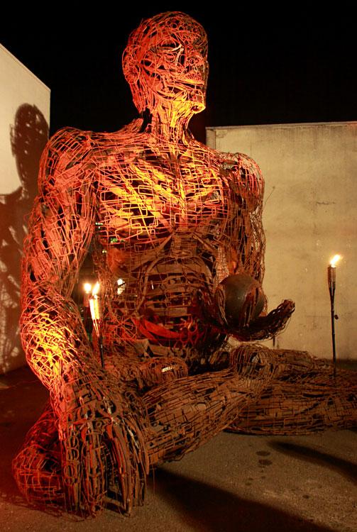 Manu, 2010 Oakland Art Murmur, Oakland, CA